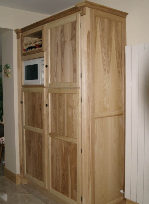 Ash Solid Wood Shaker Wardrobe ~ Ash solid wood kitchen